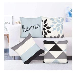 decorative throw pillow covers 18x18 Geometric